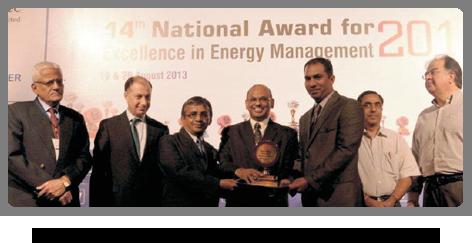 2013 - CII-Energy Efficient Award
