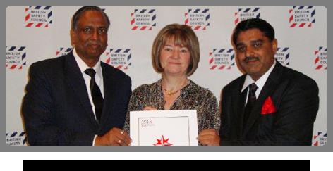 2013 - International Safety Award
