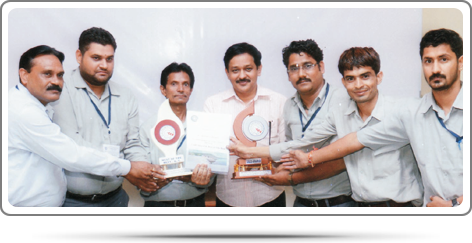 2013 - Outstanding performance of Quality Circles