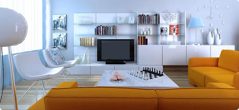 De-clutter Living Space