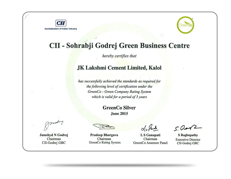 Green Co Certification