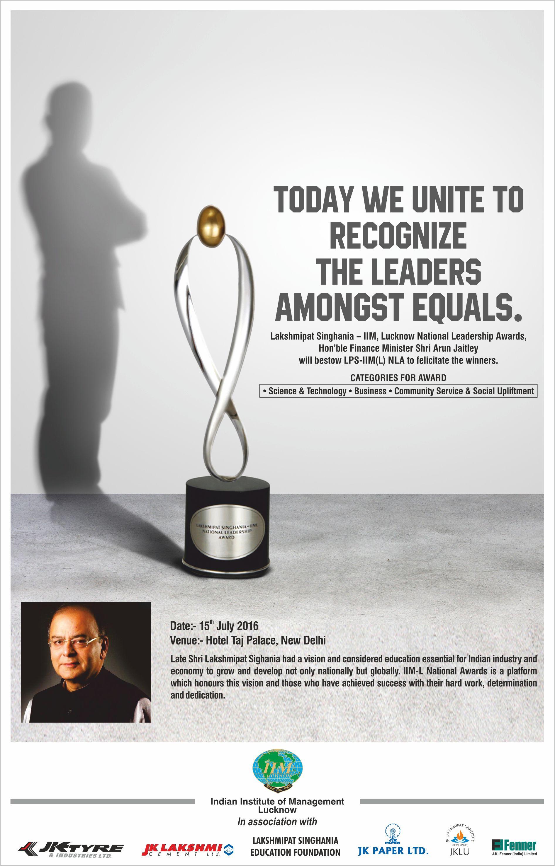 JK Lakshmi IIML Award 01