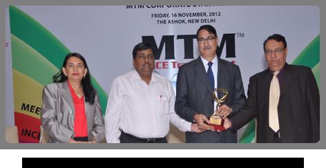 2012 - MTM Corporate Star Award