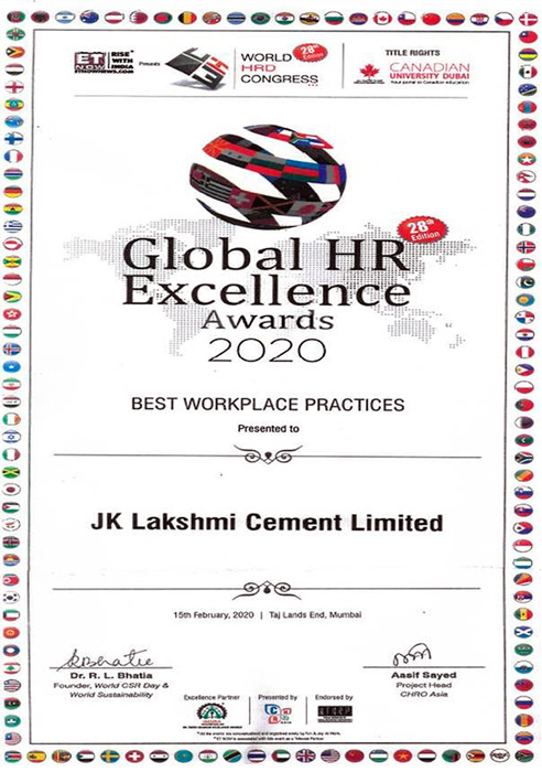 Global HR Excellence Awards 2020 - Best Workplace Practice